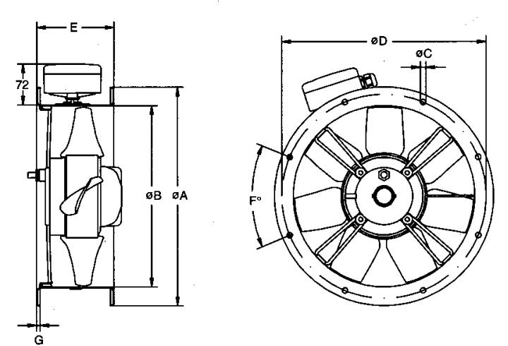 Massey Coldbeck - Ziehl Abegg Case Axial Fan Range